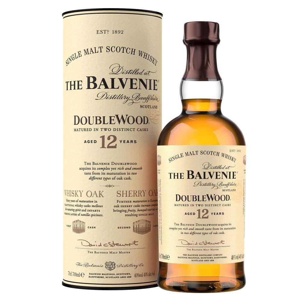 The Balvenie Double Wood 12 Year Old Single Malt Scotch Whisky 70 cl - £34.95 @ Amazon