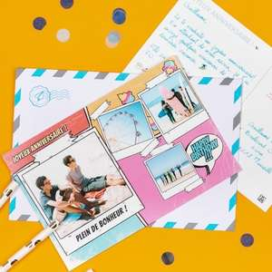 3 FREE Personalised Postcards from Fizzer @ Vodafone VeryMe Rewards