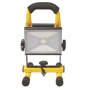 Diall LED Rechargeable LED Work Light 10W 12 / 240V - £13.99 @ Screwfix (+2 yrs guarantee / or 23W version - £19.99)