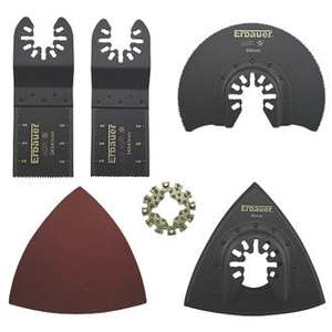 Erbauer Multi-Tool Accessory Kit 15 Pieces - £7.49 @ Screwfix