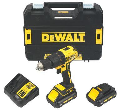 DeWalt DCD778L2T-SFGB 18V 3.0Ah Li-Ion XR Brushless Cordless Combi Drill £129.99 @ Screwfix