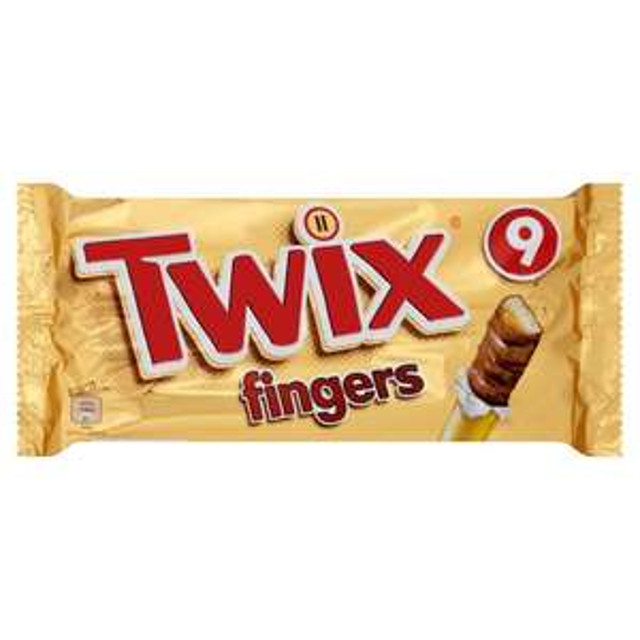 Twix Biscuit Fingers Multipack 9 x 23g £1 @ Morrisons