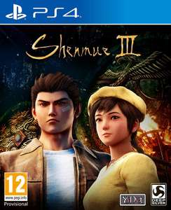 Shenmue III - Collector Edition Pre-order for PS4 £54.99 with code (new customers) @ STUDIO