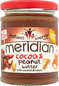 Meridian cocoa & peanut butter 280g reduced to clear @ Asda - 75p