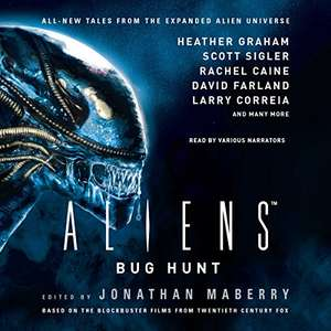 Daily Audible deal. Aliens: Bug Hunt Audiobook from Audible for Audible member's only - £1.99
