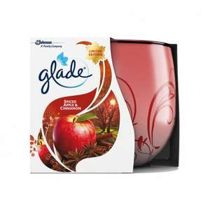 Glade candle spiced apple 120G @ Poundstretcher - £1.49
