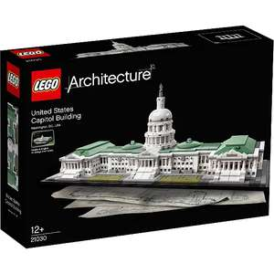 25% off Spend over £40 on loads of Lego at George - US Capitol Building - £63.73
