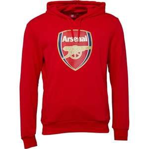Puma Mens AFC Arsenal Royal Crest Hoodie now £14.98 delivered at M&M Direct