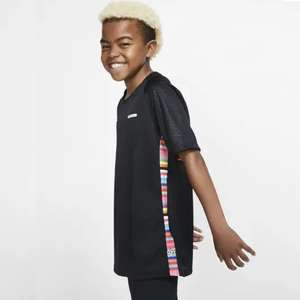 Nike Dri-FIT Mercurial Kids' Football Top in Black or White now £10.78 delivered with code @ Nike