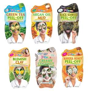 Montagne Jeunesse 7th Heaven Face Masks 80p each or 72p with NUS/Student Beans discount - online/instore @ Boots