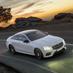 Mercedes-Benz E Class Coupe E300 AMG Line 2dr 9G Tronic - 24m Lease - 8k miles p/a - £1755 initial + £293pm = £8483 @ Leasing Options
