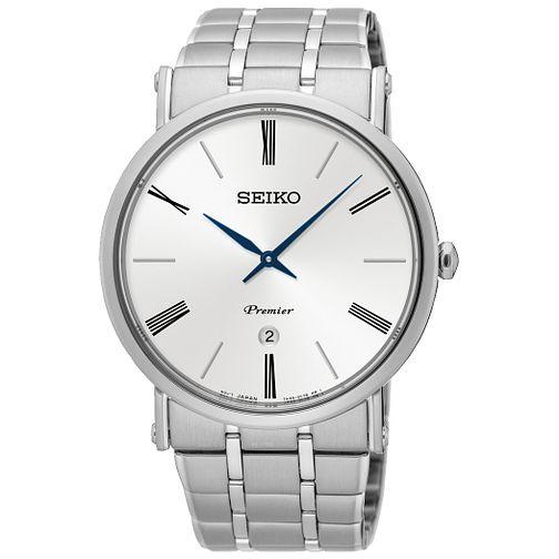 Seiko Premier Men's Stainless Steel Bracelet Watch - £115 @ Ernest Jones