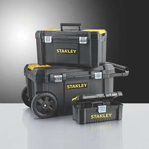 Stanley Tool Chest Bundle now £29.99 @ Screwfix