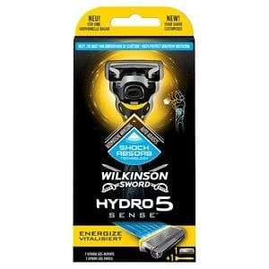 Wilkinson Sword Hydro 5 Sense Energize Men's Razor £4 @ Boots plus C&C £1.50 if ordering online and spend less than £10