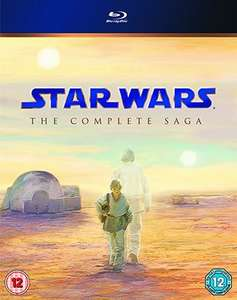 Star Wars: The Complete Saga (Episodes I - VI) Blu ray used £16.46 delivered with code @ Music Magpie
