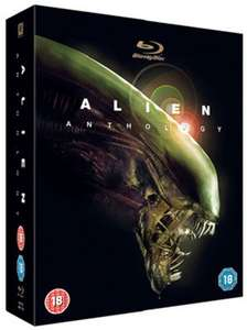 Alien Anthology 1-4 Blu ray used £3.50 delivered with code @ Music Magpie