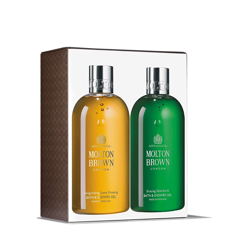 Molton Brown Suma Ginseng & Silverbirch Bath & Shower Gel Set (2 x 300ml) Pre Order - £28 @ Amazon