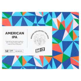 12 cans of Bad Co. American IPA £12 in-store at Asda