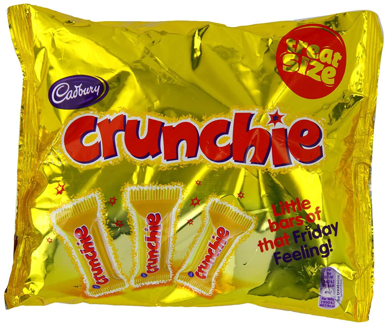 20 x Crunchie Funsize bars (350g) @ Poundland - £1
