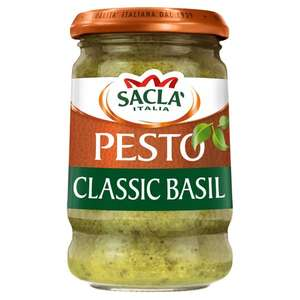 £1.70 for a jar of Sacla Pesto 190g (IN-STORE) @ Sainsbury's