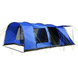 New Eurohike Hampton 6 Person Family Tent £235 ebay /  ultimate-outdoors