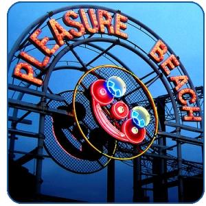 Blackpool Pleasure Beach wristbands half price £19.50 (Valid in school summer holidays) @ Planet Radio