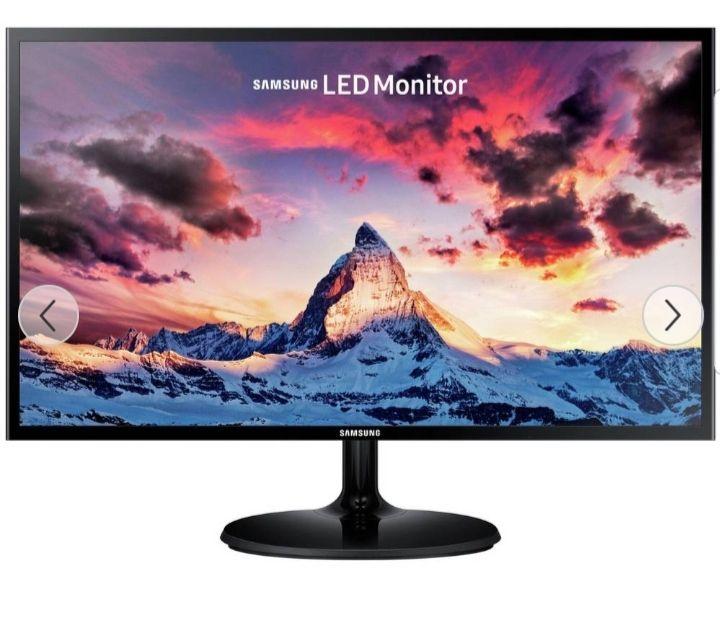 Samsung S24F352 24 Inch 60Hz Full HD LED Monitor - Black £94.99 @ Argos