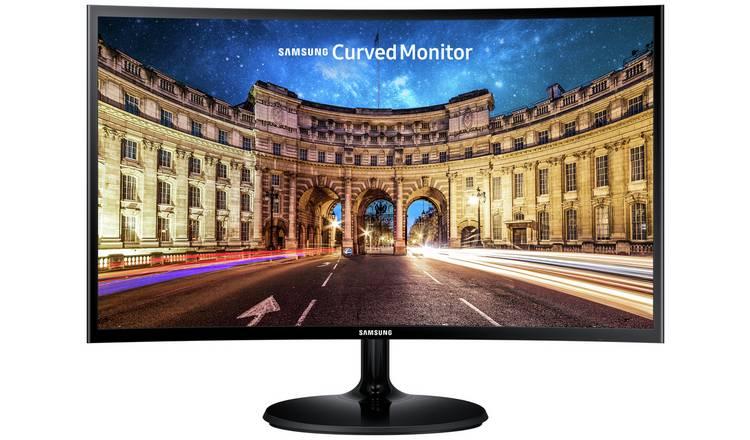 Samsung C27F390 27 Inch 60Hz FHD Freesync Curved LED Monitor - Black £139.99 at Argos