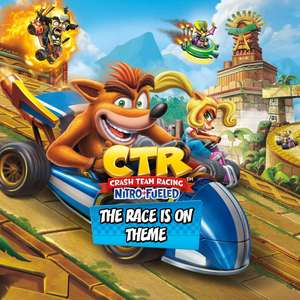 [PS4] Crash Team Racing Nitro-Fueled - The Race Is On Theme - Free - PlayStation Store