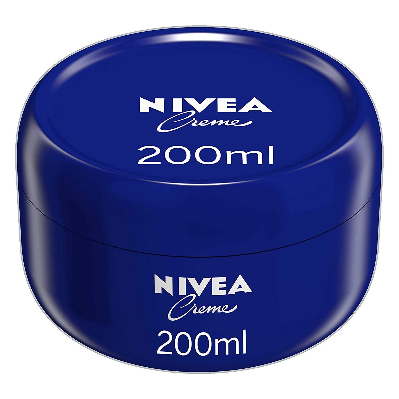 NIVEA Creme All Purpose Body Cream for Face, Hands and Body 200 ml Pack of 3 @ Amazon £5.85 Prime £10.34 Non Prime