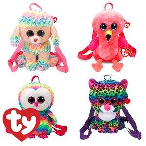 Ty Plush Animal Backpack @ Home Bargains £4.99