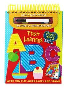 First Learning - ABC Write and wipe £1.20 with code @ The Works (Free C&C) First learning 123 also available, see OP