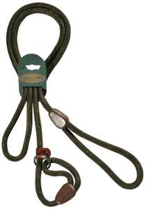 Oakberry Range Mountain Rope Slip Lead, 72-inch, Green now £3.90 Add-on item at Amazon