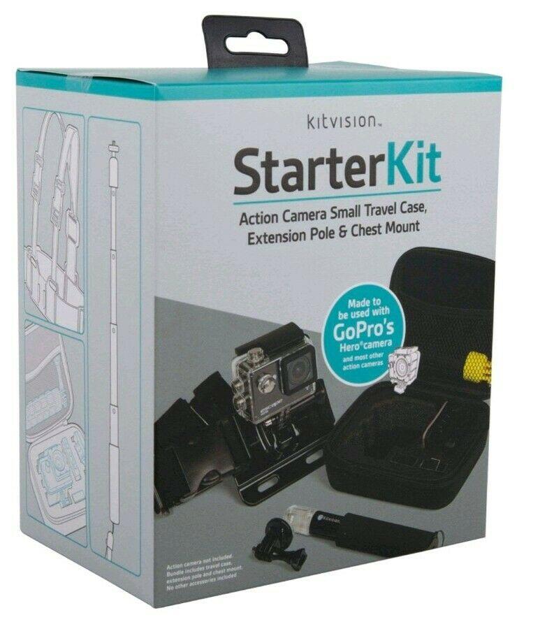 Kitvison Action Camera Starter Kit for GoPro Etc. £2.40 in store @ Asda