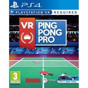 VR Ping Pong Pro (PSVR/PS4) £20.95 Delivered (Preorder) @ The Game Collection