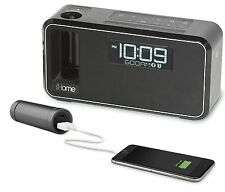 iHome Bluetooth Alarm Clock with FM Radio, USB, NFC and Power Bank £24.95 @ eBay electro-tycoon