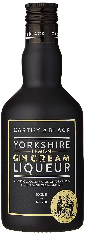 Carthy & Black Lemon Gin Cream Liqueur  17% Vol - 50cl Bottle  £9 Prime / £13.49 Non Prime @ Amazon