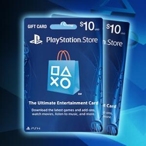 Save 20% on $10 USD PlayStation PSN Card £6.40 @ PCGameSupply