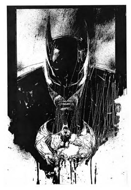 Unpublished Batman comic by Bill Sienkiewicz (PDF Download)