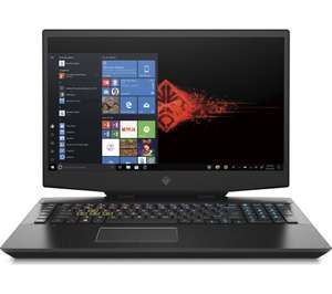 "HP OMEN (2019) Gaming Laptop / 17.3"" 144 Hz / 1660 TI 6GB / i7 9th Gen / 8GB RAM / 512GB SSD & 1TB £999 @ Currys PC World"