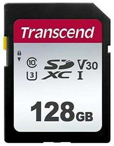 Transcend (128GB) SDXC Memory Card 95MB/s, U3 UHS-I for £13.12 (5 Years Warranty) Delivered @ CCLonline/Ebay