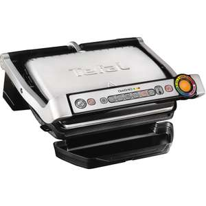 TEFAL OptiGrill+ GC713D40 Health Grill - Stainless Steel £89 @ Currys