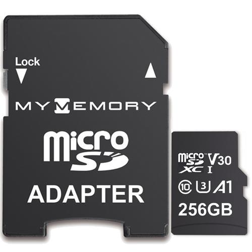 Mymemory 256gb microSD card + adaptor £22.99