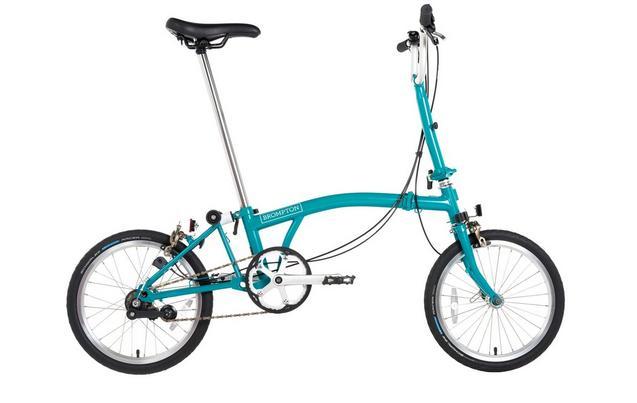 "Brompton B75 Folding Bike - Blue - 16"" Wheel - £670.50 @ Halfords using code"