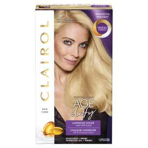 Clairol innovative age defy luminous permanent colour hair dye - £1.83 instore @ Boots Felixstowe