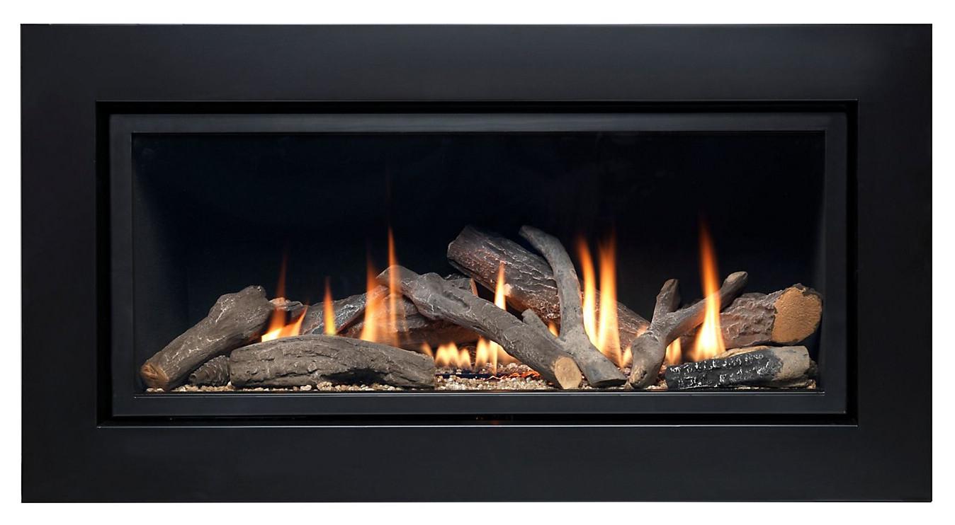 Ignite Pinnacle Black Gas Fire w/ Remote Control - £200 @ B&Q (p&p £10)
