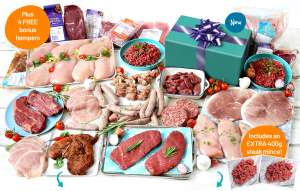 Muscle Food - 5 lean meat hampers for £69.00