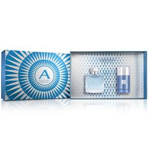 Azzaro Chrome EDT 50ml & Deodorant 75ml Gift Set now £17.99 delivered @ The Perfume Shop