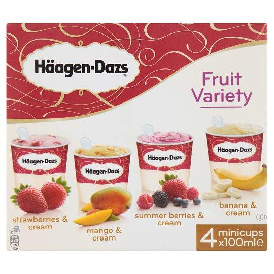 Häagen-Dazs Fruit Variety Ice Cream 4 x 100ml - £2 instore @ Heron Foods