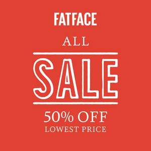 Fat Face outlet store (Springfields) extra 50% off lowest prices